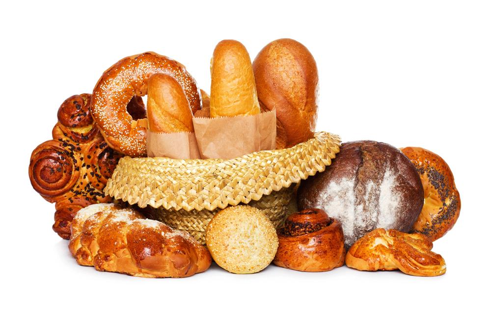 Кондитерские изделия и хлеб