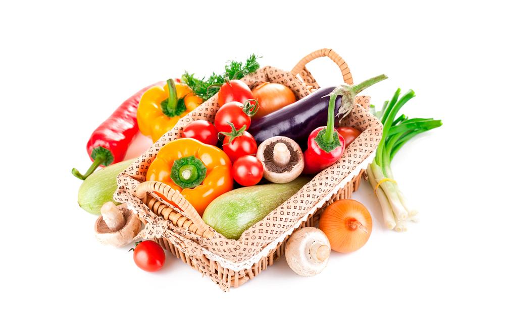 Овощи, грибы, ягоды