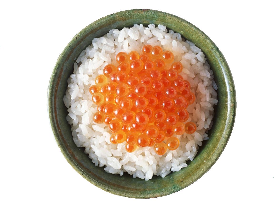 Рис, икра